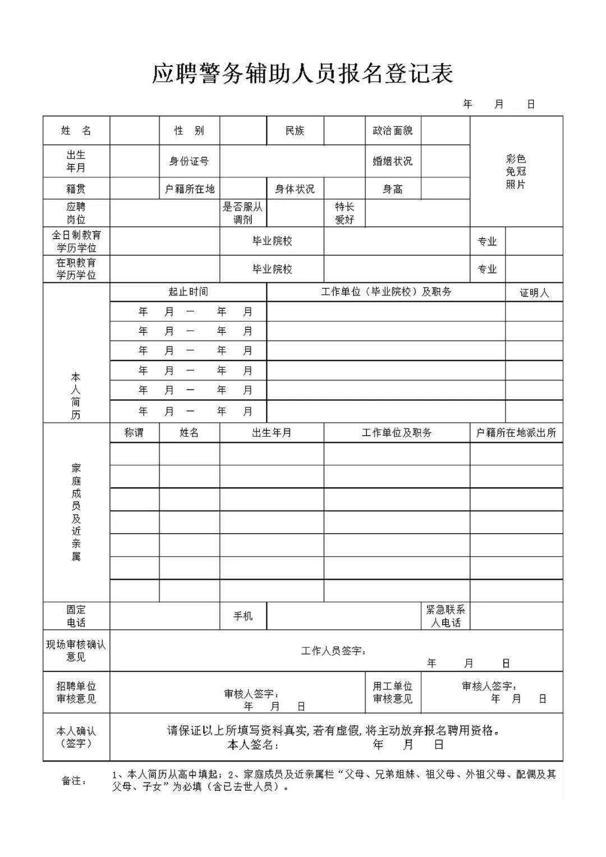 济宁市公安局兖州分局警务辅助人员招聘简章(73人)